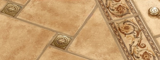 латунные вставки для плитки, бронзовые вставки для плитки, Tako